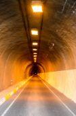 Undergound Dark Tunnel — Stock Photo