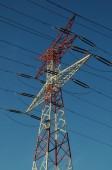 Electricity Power Pylon — Stock Photo