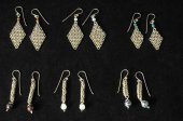 Handmade Silver Jewelry — Stock Photo