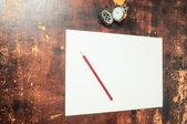 Concepto de tiempo de exámenes — Foto de Stock