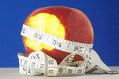 Dieta apple a metr — Stock fotografie
