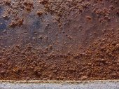 Rust Stained Concrete — ストック写真