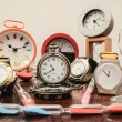 Many different Clocks — Stock Photo #64200467