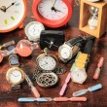 Many different Clocks — Stock Photo #64232185
