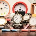Many different Clocks — Stock Photo #64246571