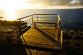 Sunrise Pier — Stockfoto