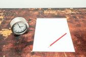 考试时间概念 — 图库照片