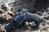 Kunststoff Revolver Pistole — Stockfoto