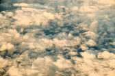 Flying Above the Cloud — Foto Stock