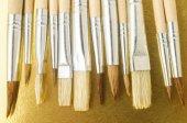 Nuova texture di legno diverse pennello — Foto Stock