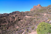 Volcanic Rock Basaltic Formation in Gran Canaria — Stock Photo
