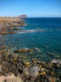 Dry lave côte plage — Photo
