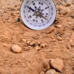Orientation Concept Metal Compass — Stock Photo #69576107