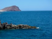 Dry Lava Coast Beach — Stock Photo