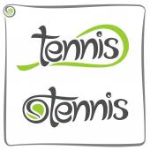 Abstract background on the tennis — Cтоковый вектор