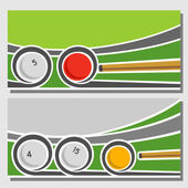 Images for text on the subject of billiard — Stock Vector
