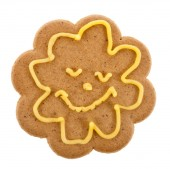 Christmas gingerbread funny cookie — Stock Photo