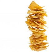 Nacho chips snack — Stock Photo