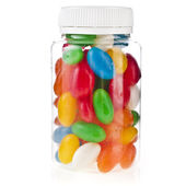 Colored JellyBeans — Stock Photo