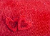 Valentine's day romantic hearts — Stock Photo
