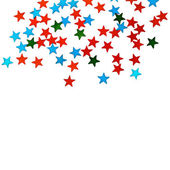 Holiday stars background — Stock Photo