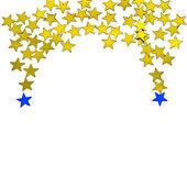 праздничные звезды фона — Стоковое фото