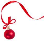 Christmas holiday ball — Stock Photo