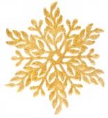 Schneeflocke Urlaub Dekoration — Stockfoto