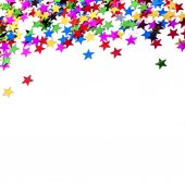 Holiday stars background — Stock fotografie