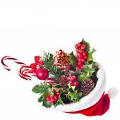 Christmas mistletoe decoration — Stock Photo