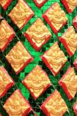 Colorful tile mosaics background texture — Stock Photo