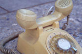 Old phone vintage style — Stock Photo