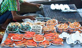 Seafood floating market on sales — Stock Photo