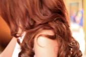 Women with long hair — Foto de Stock