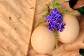 Ovos de Páscoa vintage — Fotografia Stock