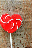 Candy valentines hearts — Stock Photo
