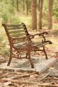 Vintage bench chair — ストック写真