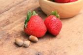 Strawberry fresh fruit — Stock Photo
