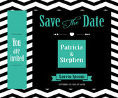 Wedding invitation, announcement  card — Stock Vector