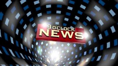 Broadcast NEWS — Stock Video