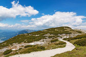 Dachstein - path to the Five Fingers viewing platform — Stock Photo