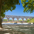 Pont du Gard  in Southern France — Stock Photo #64819301