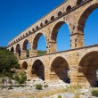Pont du Gard  in Southern France — Stock Photo #64819363