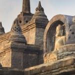 Buddha statute in buddhist temple — Stock Photo #68375191