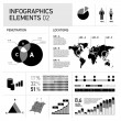 Vector infographic elements — Stock Vector #68578293