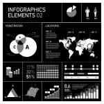 Vector infographic elements — Stock Vector #68581263