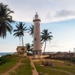 Lighthouse in Galle fort, Sri Lanka — Stock Photo #73293583