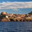 Panorama of Capraia harbour — Stock Photo #79840398