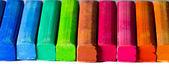 Long row of chalk sticks — ストック写真