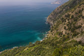 Coastline of Cinque Terre — Stock Photo